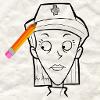 Игра Рисовалка: Ретро мультик 3