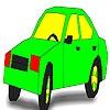 Игра Раскраска: Странный авто