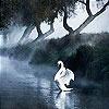 Игра Пятнашки: Белый лебедь
