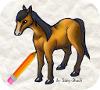 Игра Рисовалка: Лошадь