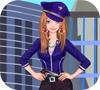 Игра Одевалка: Полиция