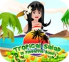 Game Tropical Salad in Pineapple Bowl