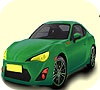 Game Very speedy car coloring