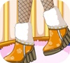 Игра Дизайн: Зимняя обувка