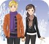 Игра Одевалка: Зимняя романтика