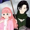 Игра Одевалка: Зима в стиле Аниме