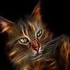 Игра Пятнашки: Котик