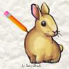 Игра Рисовалка: Кролик