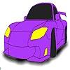 Игра Раскраска: Маленький авто