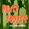 Игра Поиск чисел: Лес