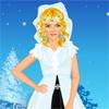 Игра Одевалка: Ледяной цветок