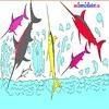 Игра Раскраска: Рыба меч