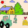 Игра Раскраска: Ферма
