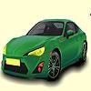 Игра Раскраска: Гоночный авто