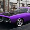 Игра Пазл: Пурпурный авто