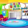Игра Дизайнер: Цветная комната