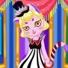Игра Одевалка: Кошечка-принцесса