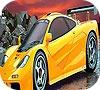 Игра Раскраска: Желтый автомобиль