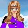 Игра Одевалка: Барби катается на сноубоде