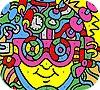 Игра Раскраска: Краски лица