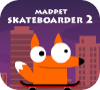Игра Мадпед 2: скейтбоард