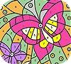 Игра Раскраска: Бабочка
