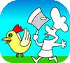 Игра Спаси курицу