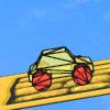 Игра 3D оранжевая машина