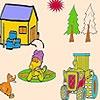 Игра Раскраска: Утиная ферма
