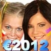Игра Евро2012: Блондинки ПРОТИВ Брюнеток