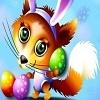 Игра Передвижной пазл: Веселая лиса
