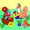 Игра Раскраска: Пасхальные яйца