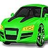 Игра Раскраска: Зеленая машина