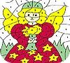 Игра Раскраска: Маленькая фея