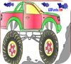 Game Monster Truck Coloring