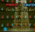 Игра Огонь и Вода 1: Лесной храм