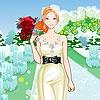 Игра Одевалка: Свадьба в саду