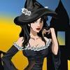 Игра Одевалка: Маленькая ведьма