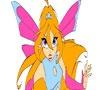 Игра Раскраска: Суровая фея