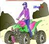 Игра Раскраска: Квадроцикл