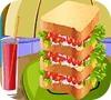 Игра Кулинария: Большой сендвич