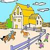 Игра Раскраска: Большая ферма