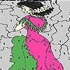 Игра Раскраска: Принцесса на балконе