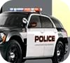 Game Police Driving Obstacle Course