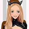 Игра Одевалка: Девушка-кошка