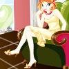 Игра Одевалка: В кресле