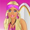 Игра Барби идет на серфинг