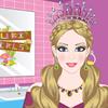 Игра Одевалка: Диадемы Барби