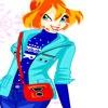 Игра Одевалка: Выбор с Блум