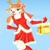 Игра Одевалка: Рождество